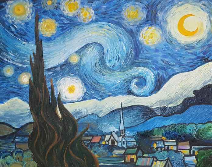 Starry night- Vincent Van Gogh