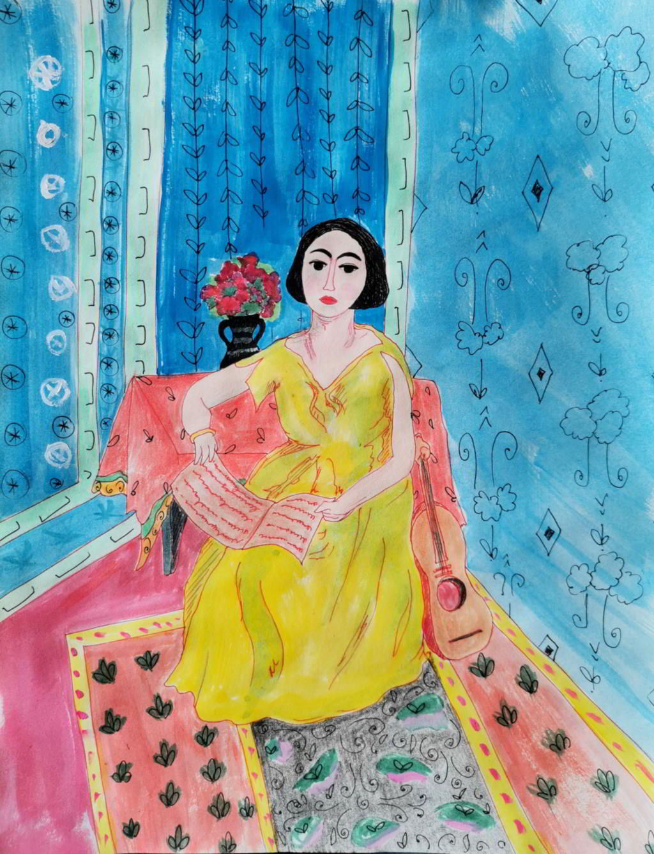 σε στυλ Matisse